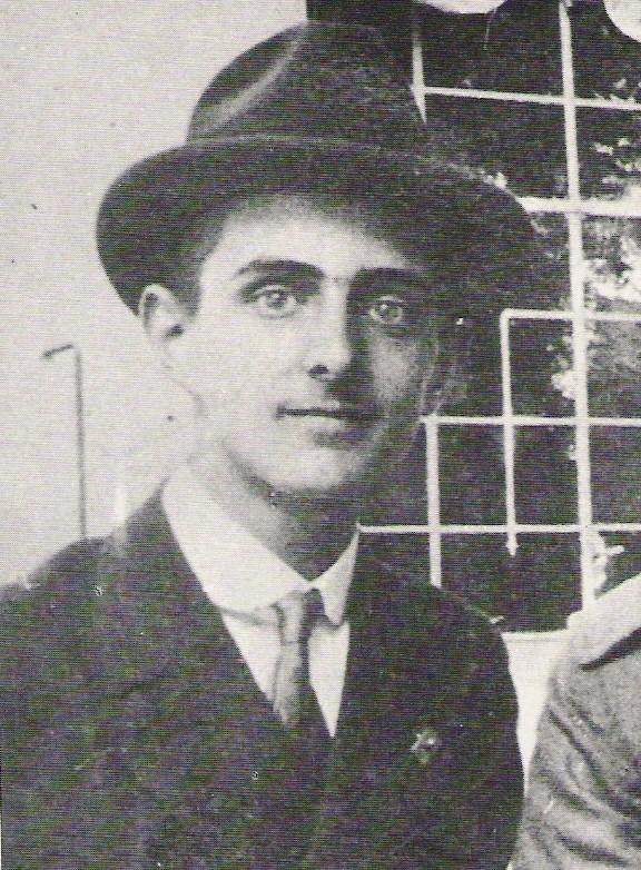Giovanni Battista Montini på et fotografi fra 1919