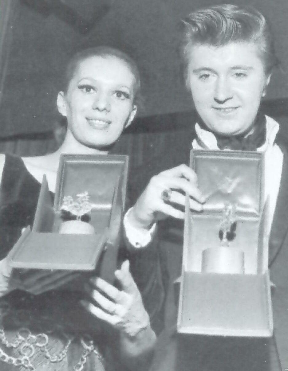 Iva Zanicchi e Bobby Solo Sanremo 1969