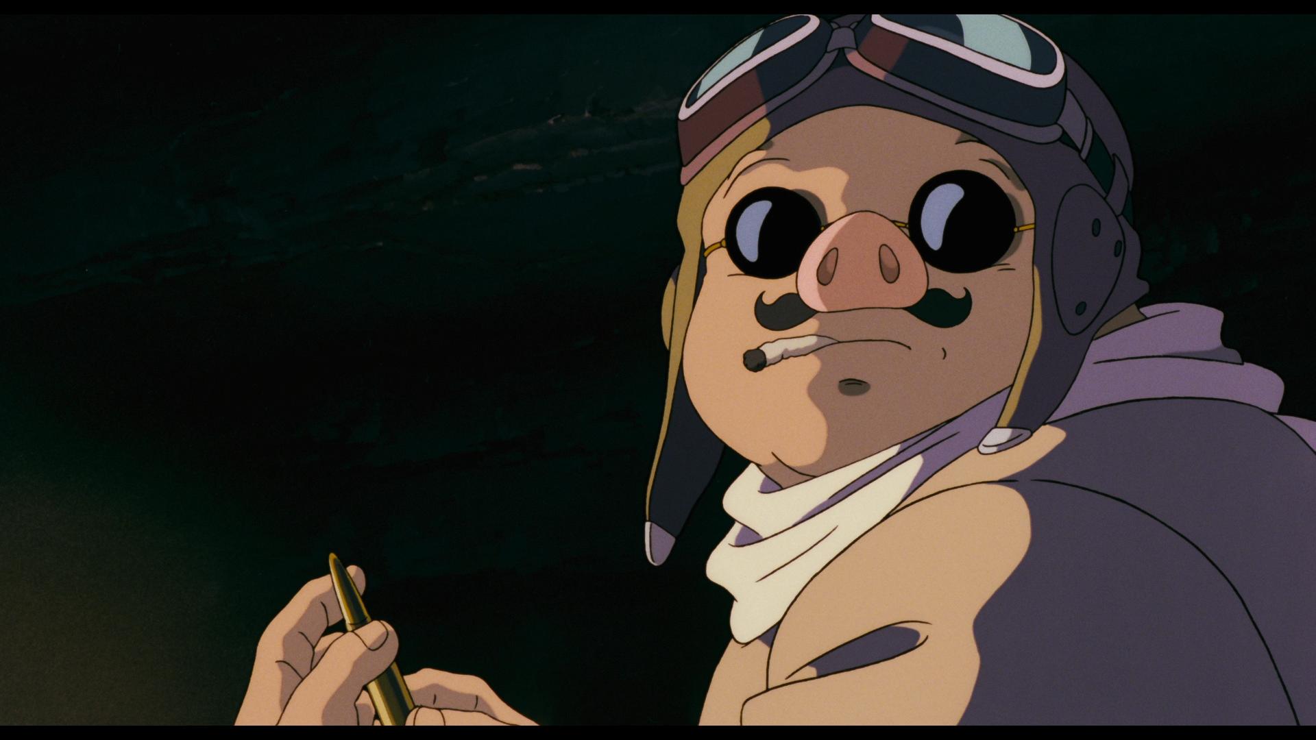 Marco Pagot Alias Porco Rosso In Una Scena Del Film