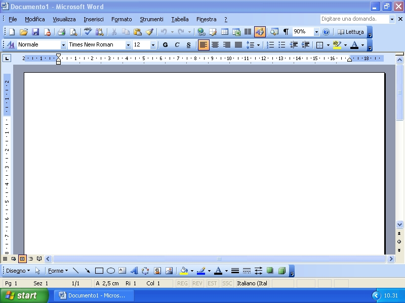 Microsoft Word  Column Table Drop Cap Letter
