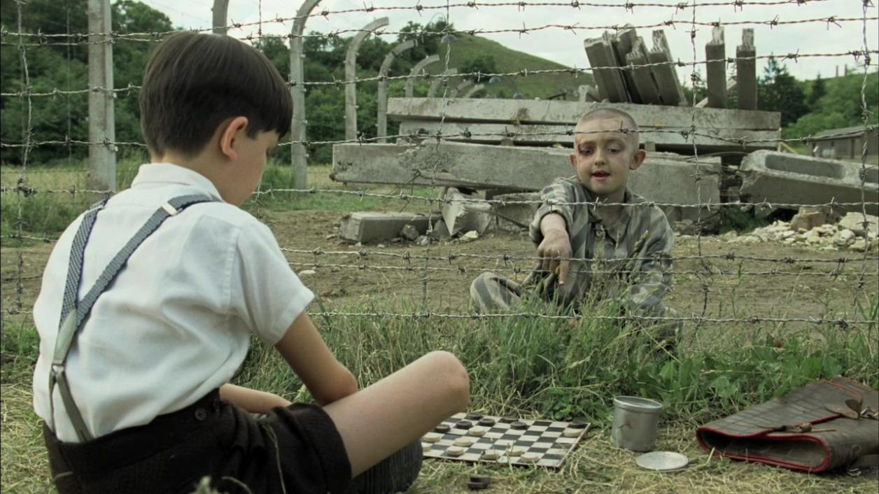 Risultati immagini per Il bambino con il pigiama a righe (2008)