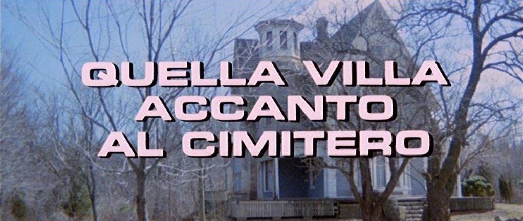Quella Villa Accanto Al Cimitero Cd Kaufen