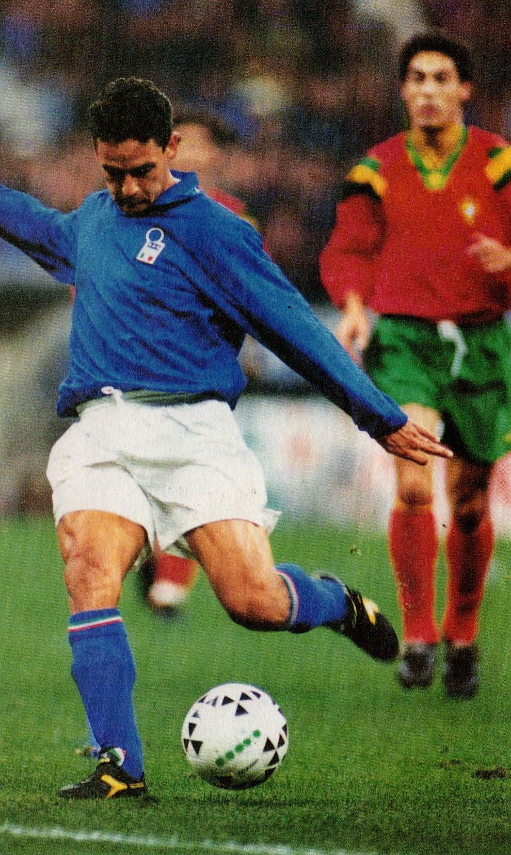 File italia vs portogallo san siro 1993 roberto - Una porta nel cielo roberto baggio ...