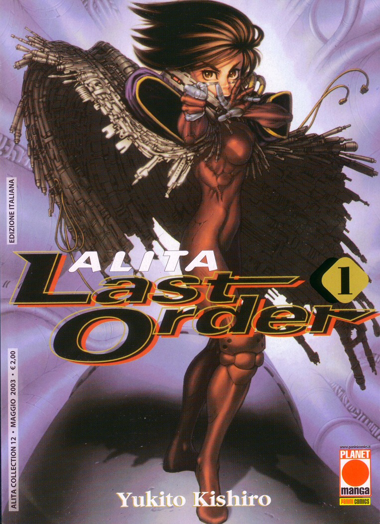 Alita Last Order recensione