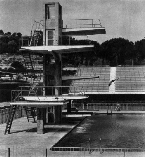 Tuffi ai giochi della xvii olimpiade wikipedia for Piani del padiglione della piscina