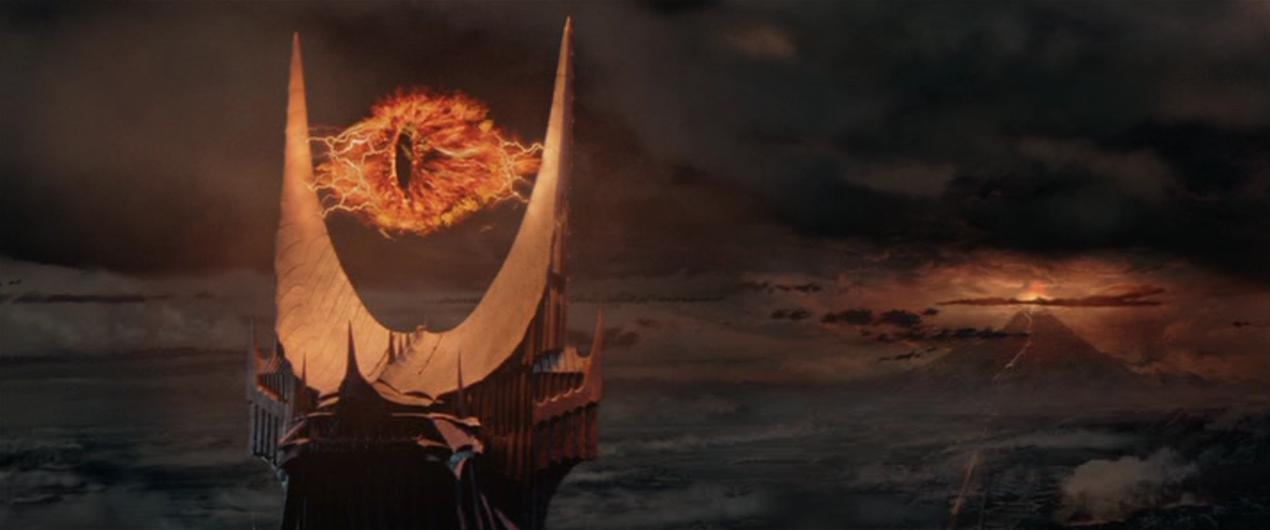 L'Occhio di Sauron nell'adattamento cinematografico di Peter Jackson