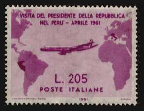 gronchi rosa francobollo raro