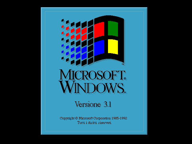 Avvio di Windows 3.1
