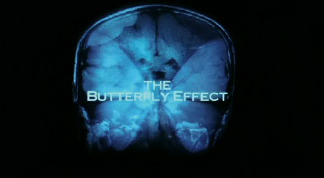 Definition of 'butterfly effect'