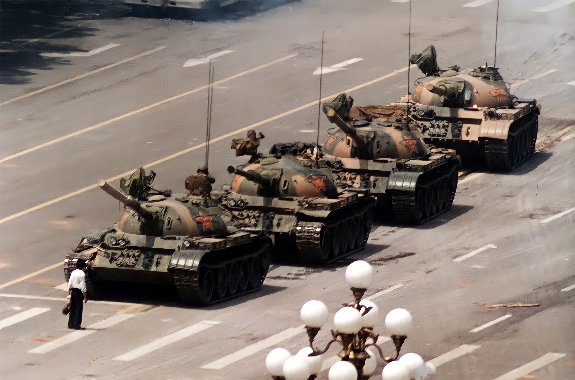 Piazza Tiananman: il rivoltoso sconosciuto