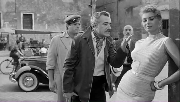 File:Peccato che sia una canaglia - Marcello Mastroianni, Vittorio De Sica e Sophia Loren.jpg
