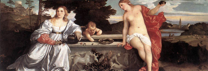 Tiziano Vecellio, Amor Sacro e Amor Profano