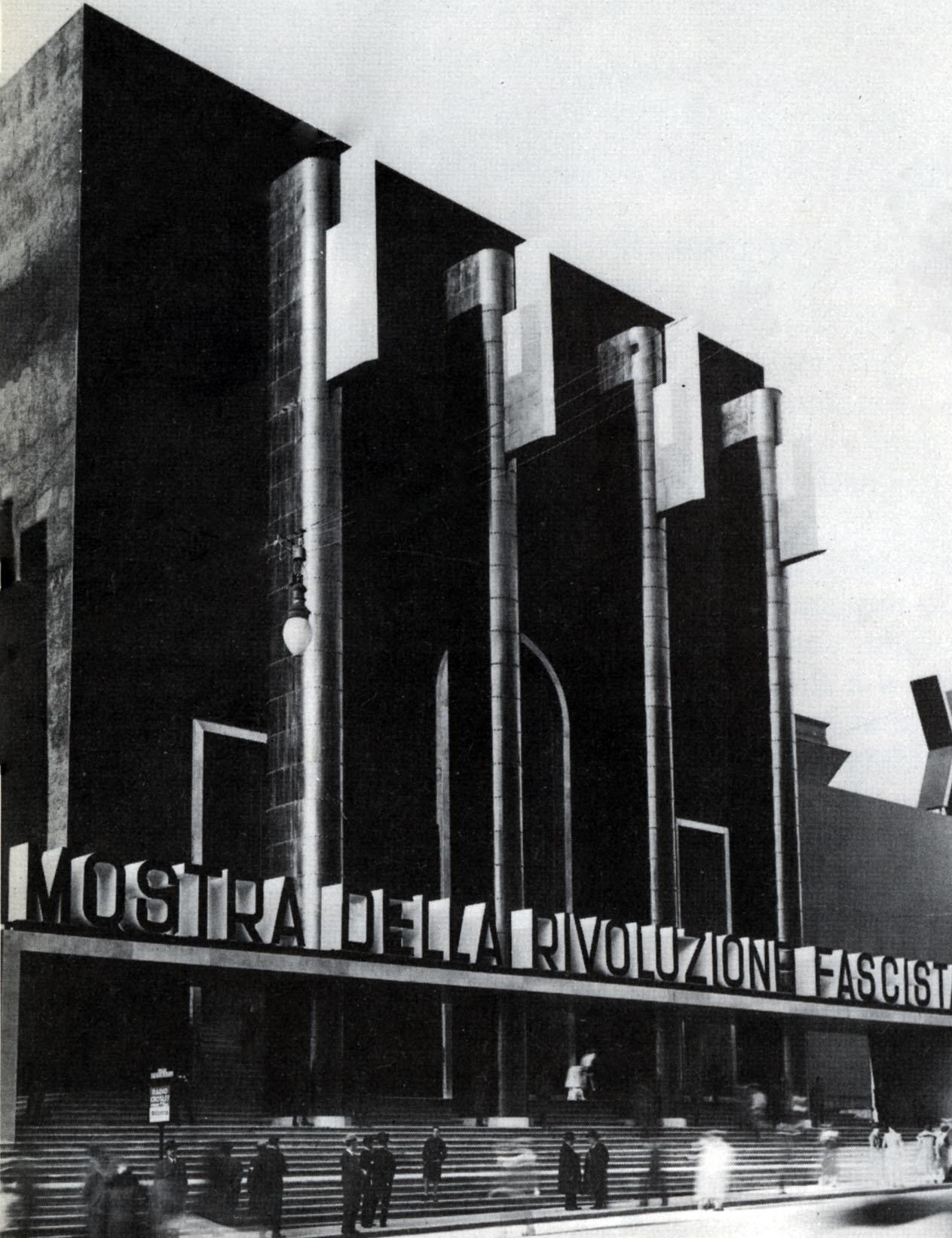 File mostra wikipedia for Architettura fascista in italia