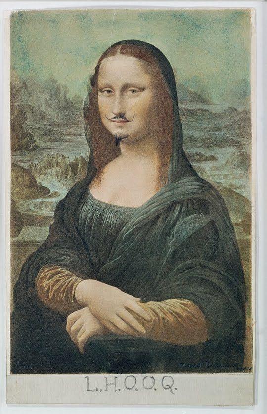 Marcel Duchamp, L.H.O.O.Q.