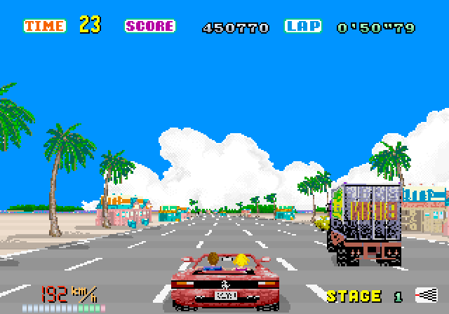 Amiga Car Racing Games