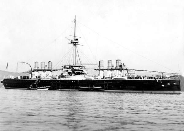 italia  nave da battaglia 1880