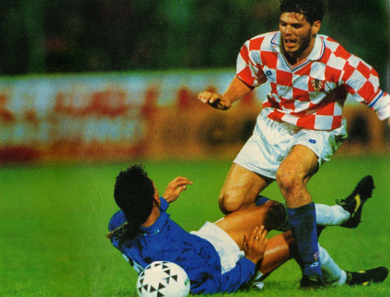 File italia vs croazia 1994 roberto baggio e zvonimir - Una porta nel cielo roberto baggio ...