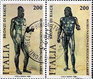 Risultati immagini per immagini bronzi di riace
