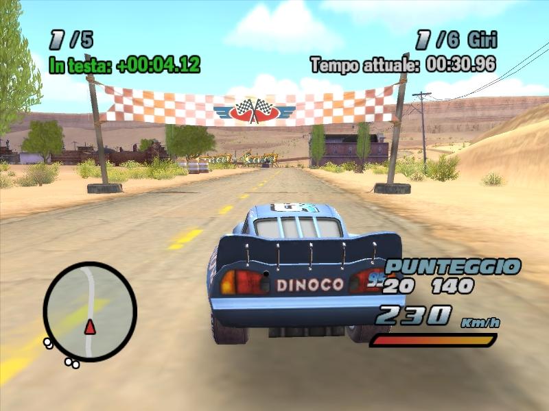 Cars Xbox Game