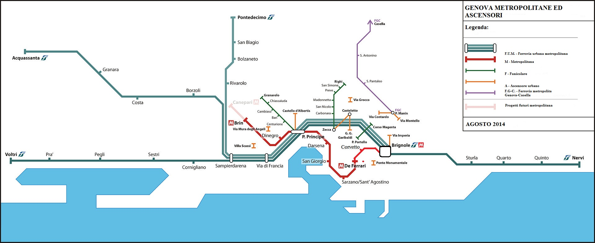 Plan De Naples Centre Ville