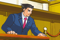 Phoenix Wright in Phoenix Wright: Ace Attorney
