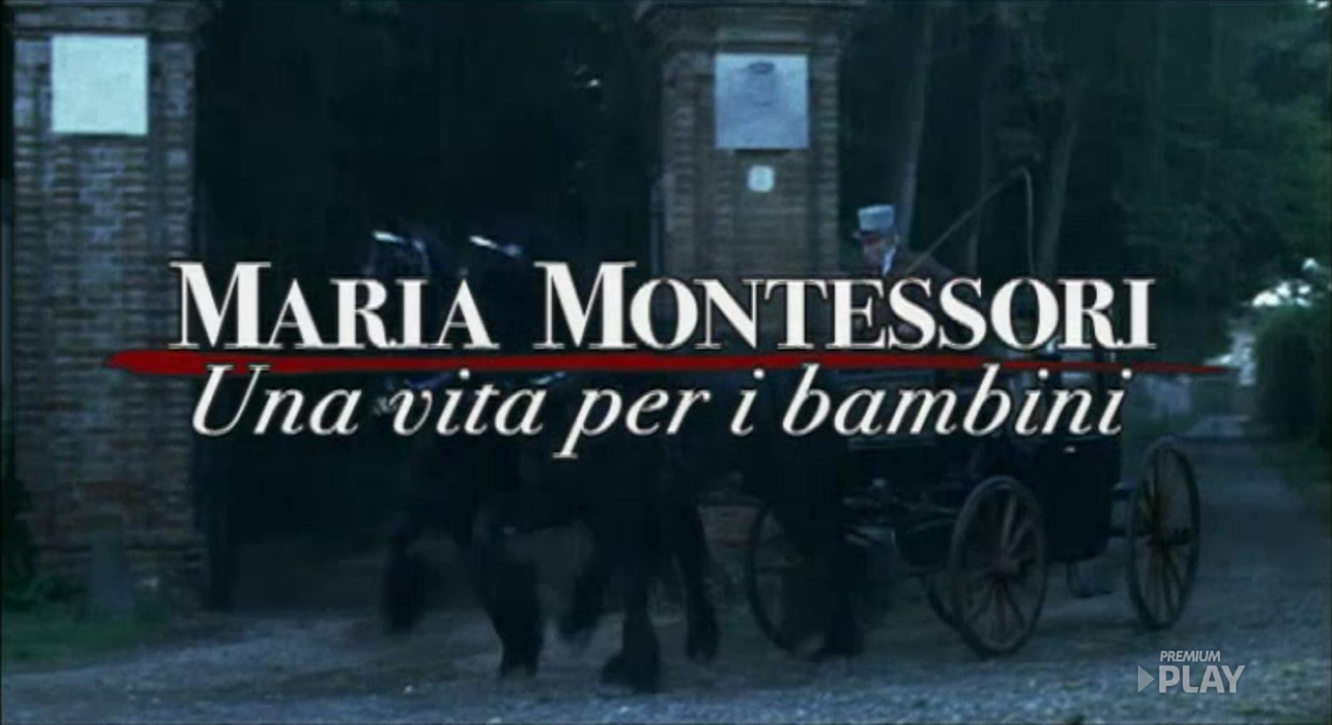 Maria Montessori Una Vita Per I Bambini Wikipedia