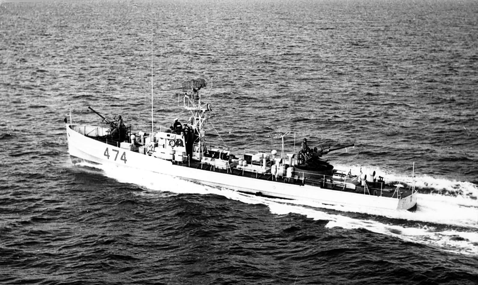 Vedettes de patrouille type M.S. MS474