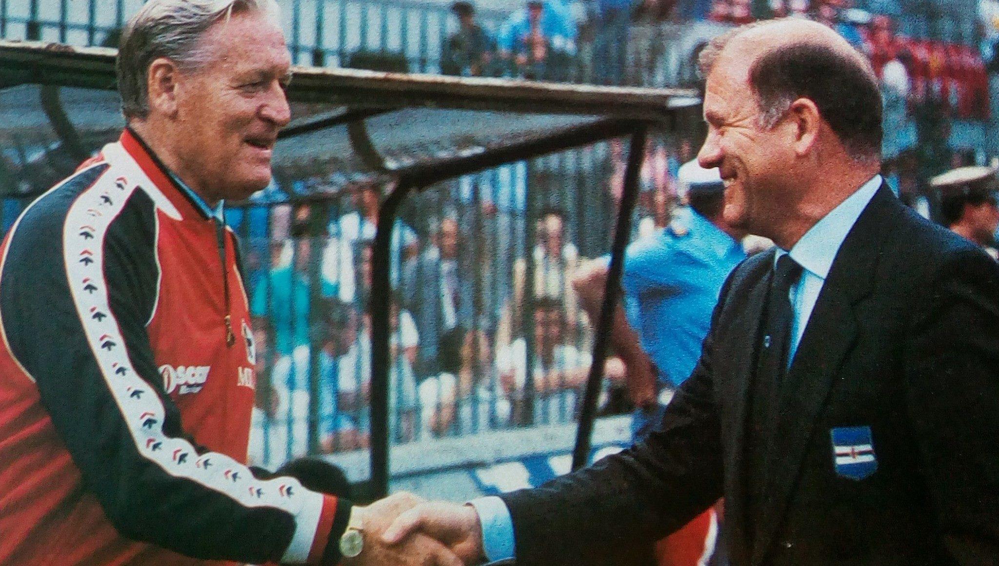 File Coppa Italia 1984 85 Milan vs Sampdoria Nils Liedholm ed