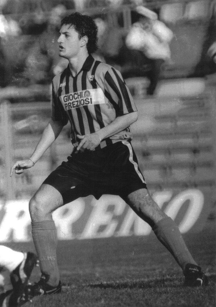 Andrea Fortunato al Pisa nella stagione 1991-1992