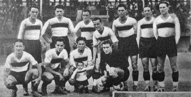 FOTOS HISTORICAS O CHULAS  DE FUTBOL - Página 11 Sampierdarenese1934