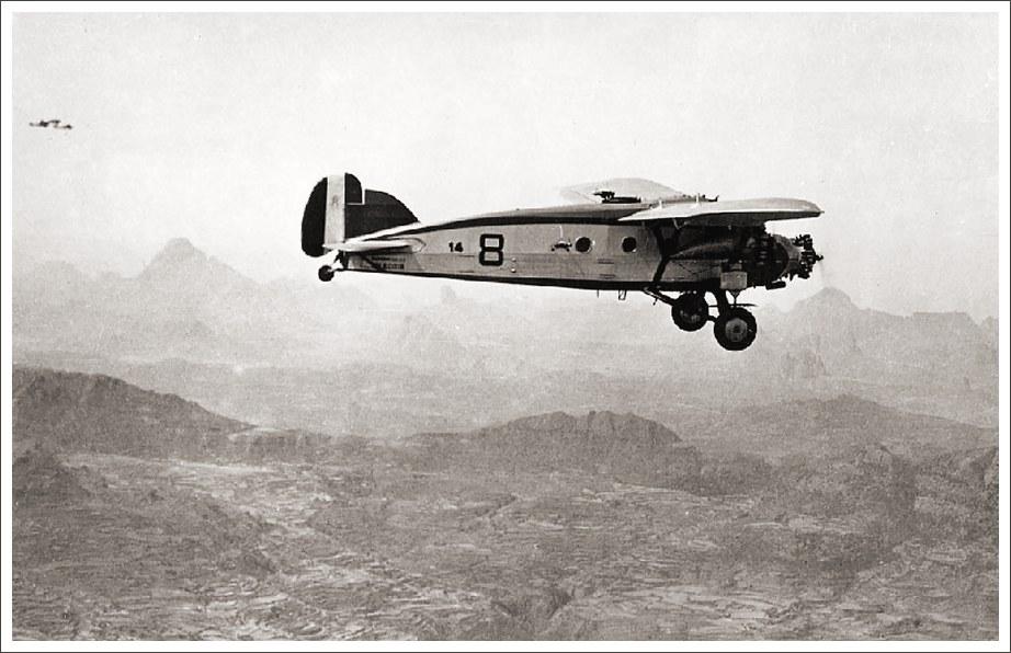 bombardero Caproni Ca 101 sobre Abisinia