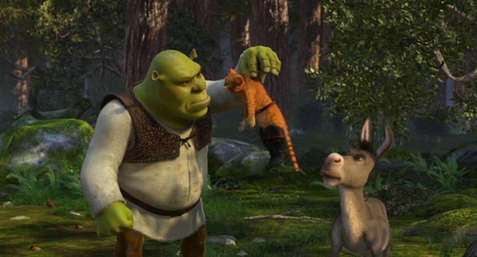 Shrek stampa e colora disegni