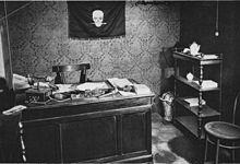 La prima sede dei Fasci Italiani di Combattimento e del Popolo d'Italia, detto