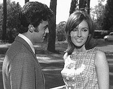 Little Tony ed Eleonora Brown nel film Cuore matto... matto da legare