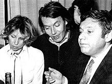 Paolo Villaggio assieme all'amico Fabrizio De André, con cui ha condiviso gli anni della giovinezza