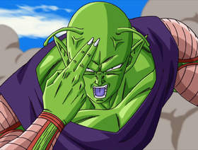 Piccolo in Dragon Ball: Piano per lo sterminio dei Super Saiyan