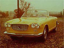La Flavia Convertibile Vignale di Michelotti nel 1964