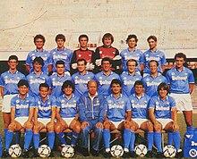 Il Napoli campione d'Italia nella stagione 1986-1987