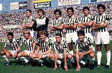La Juventus di Giovanni Trapattoni della stagione 1983-84, che centrò il double composto da scudetto e Coppa delle Coppe
