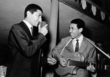 Nicola Arigliano con Franco Cerri nel 1959
