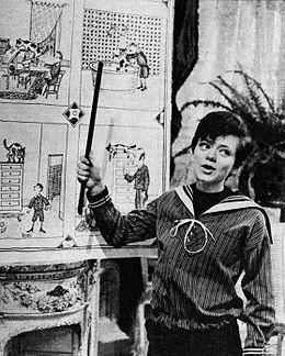 Rita Pavone ne Il giornalino di Gian Burrasca 1964