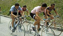 Merckx e Gimondi al Giro d'Italia 1970