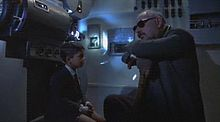 Salvatore ragazzino e Alfredo in una scena del film
