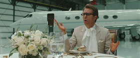 Sam Rockwell interpreta Justin Hammer in Iron Man 2