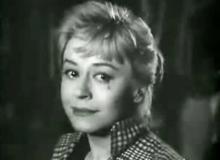Giulietta Masina nel film Le notti di Cabiria
