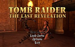 The Last Revelation Title screen.jpg