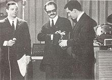 Johnny Dorelli assieme a Gino Paoli e Riccardo Del Turco