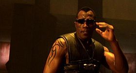 Wesley Snipes nel ruolo di Blade