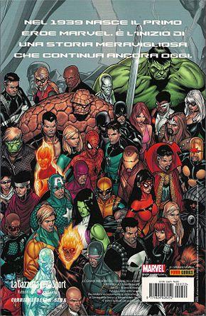 Vari personaggi dell' universo marvel . tavola promozionale per gli