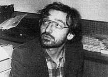 Oreste Scalzone nel 1979